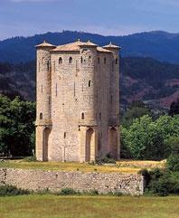 Chateau d' Arques, France.