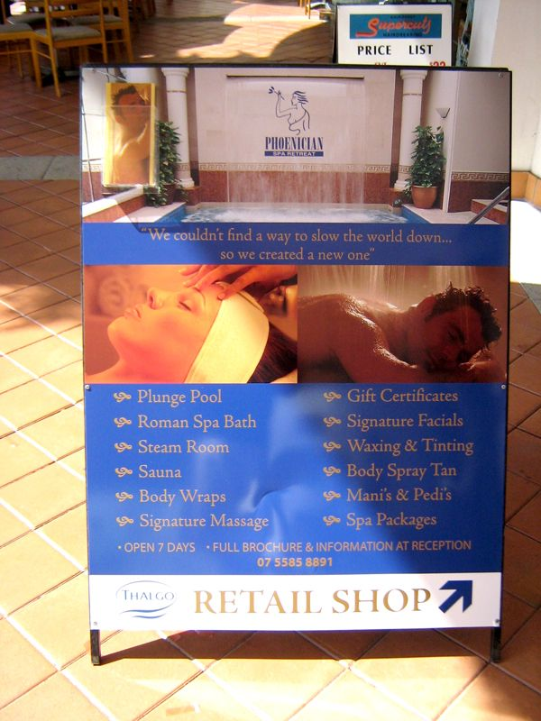 Retail Shop - #Standard #Signage