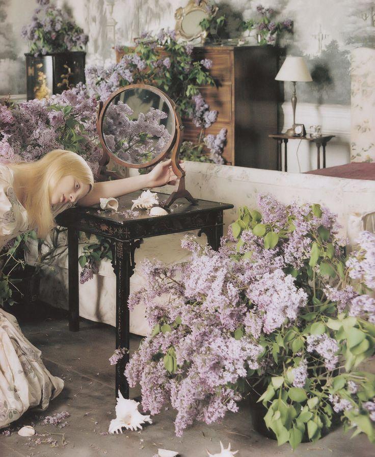 'England's Dreaming'. Guinevere van Seenus photographed by Tim Walker for Vogue UK, August 2006.