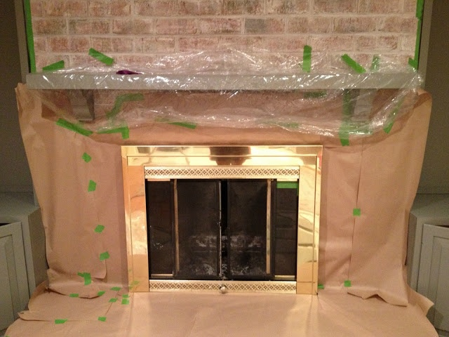 1000+ ideas about Brass Fireplace Makeover on Pinterest ...