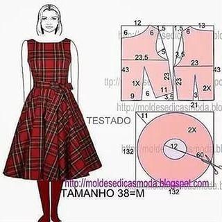 #выкройка платья