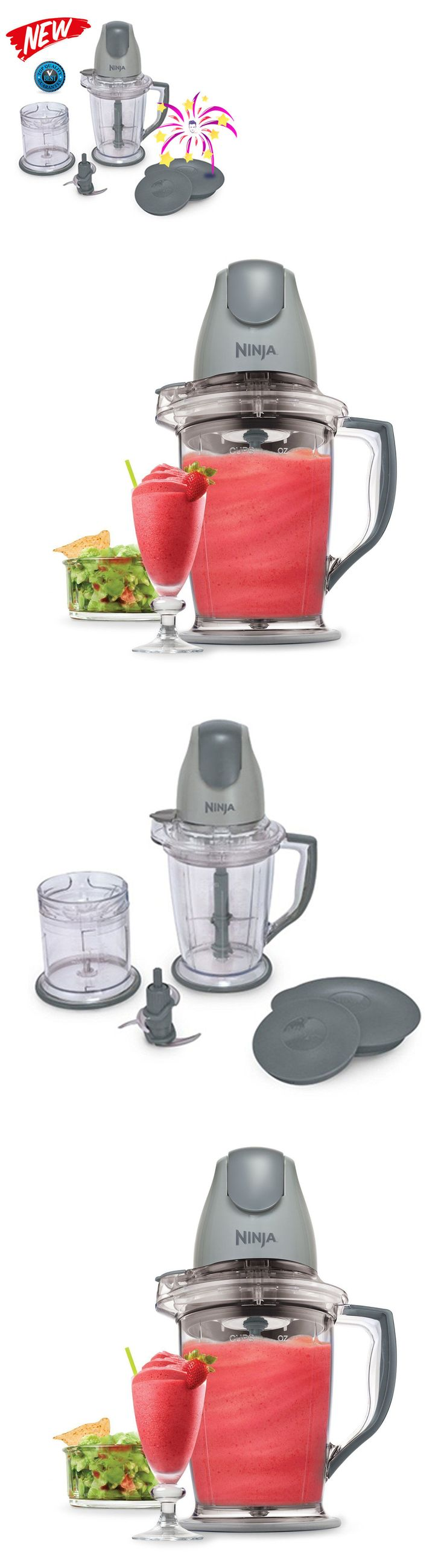Small Kitchen Appliances: Ninja Master Prep Blender Food Processor Chopper Drink Mixer Smoothie Maker BUY IT NOW ONLY: $37.44