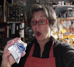Rehydrating Metal Clay dust from fired clay and how to use Barbara S Ferand