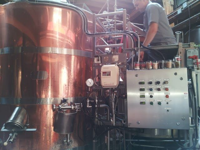 Mill Street Brewery - Took a look inside the mash tun. #breweries #beer