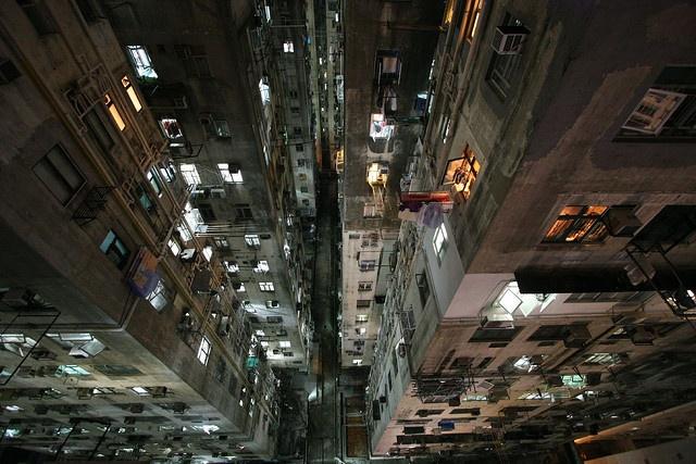 down from Chungking Mansions, Hong Kong by richie vacations, via Flickr