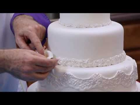 How to Make Your Own Wedding Cake Part 2 of 2 by Chef Alan Tetreault of Global Sugar Art.