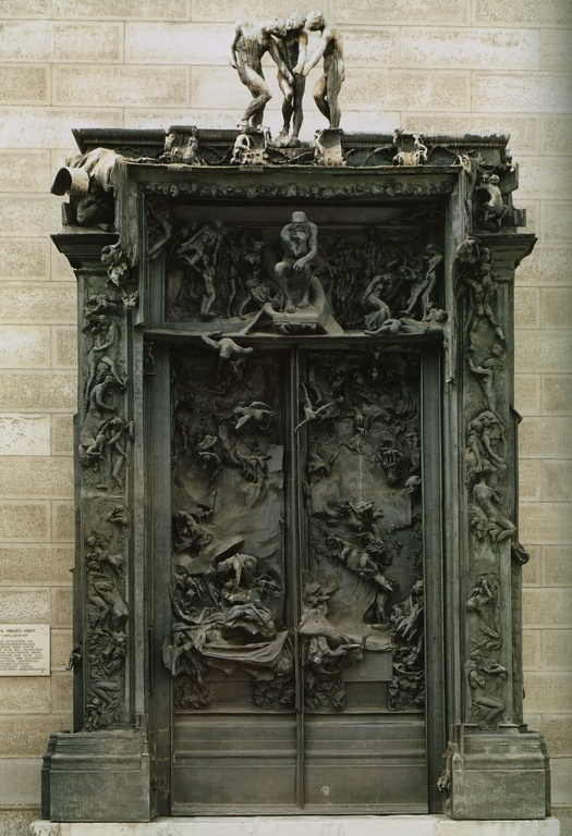 Gates of Hell, Rodin, Paris