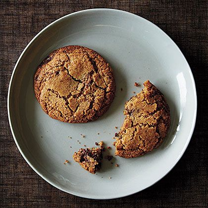 Use whole-wheat flour to mix up your cookie. Try these whole-wheat chocolate chip cookies. Remember: whole-wheat flour can make baked goods dry, so measure carefully. Spoon flour lightly into the cup, then sweep off excess with the flat side of a knife.