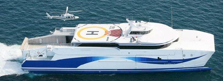 2008 Custom Ultra Fast ROPAX Catamaran Ferry Power Boat For Sale -