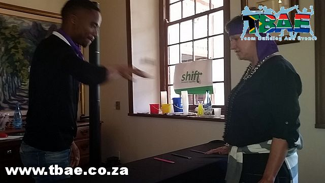 SA Natural Products Minute To Win It Team Building Stellenbosch