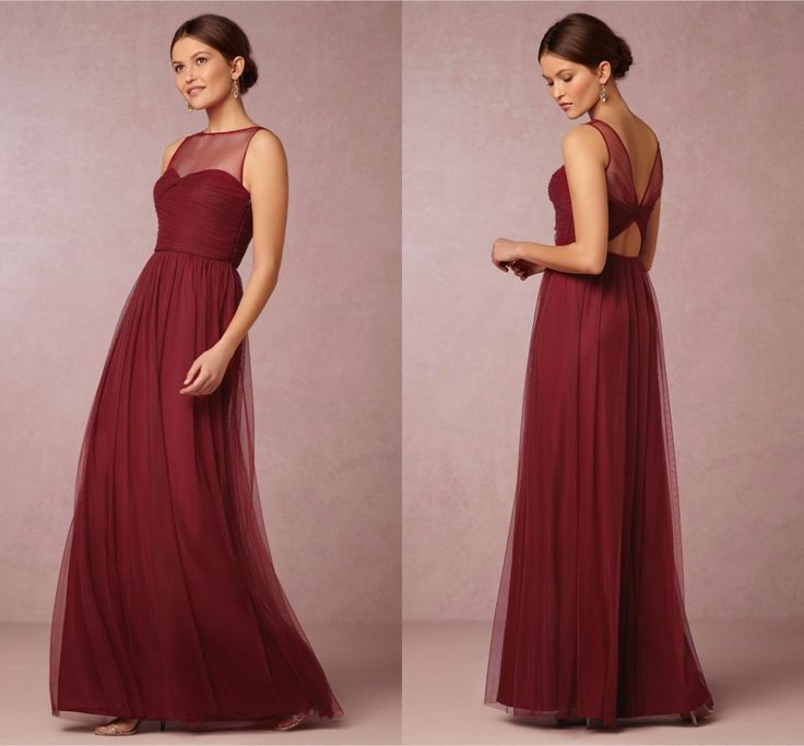 Find More Mother of the Bride Dresses Information about Modest Simple 2016 Dark Red  Plus Size Mother Of The Bride Dresses Long Elegant Formal Party Dress O neck Spaghetti Strap ,High Quality dress metal,China dress pants short men Suppliers, Cheap dress spaghetti strap from Amazing Dress Factory  on Aliexpress.com