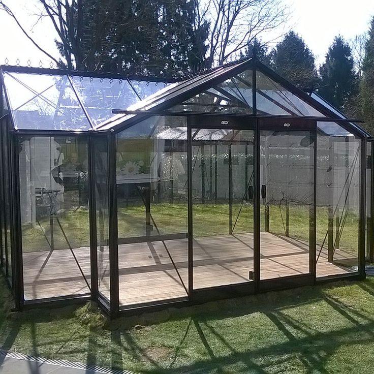 Orangeri Helene, ett växthus för odling och avkoppling #Växthus #Orangeri #Uterum #Helene