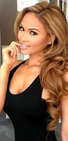 Light brown hair Daphne Joy