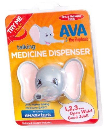 Amazon.com: Ava the Elephant Talking Children's Medicine Dispenser: Baby - Emmy's idea and Barbara's Financing from Shark Tank TV Show