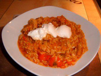 Serbisches Reisfleisch - Rezept mit Bild