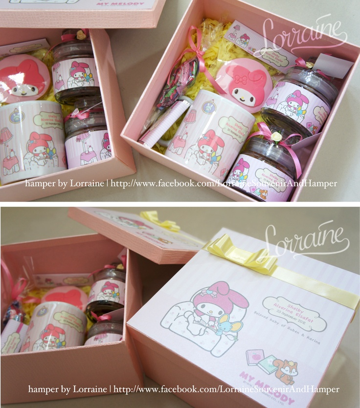 My Melody - 1st month baby hamper  Baby Shelby