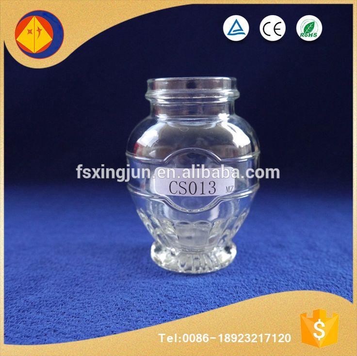 New Recommended Wholesale Flower Basket Shape Unique Glass Packaging Jars  For Essence Of Chicken - Buy Wholesale Glass Jars,Unique