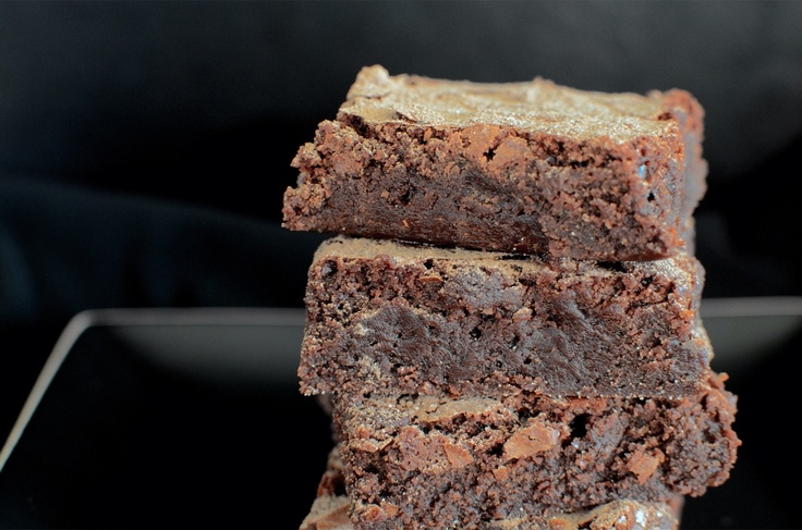 Decadent Deep Chocolate Brownies from @Tara Conklin - The Butter Dish: Butter Dish, Guilty Pleasure, Brownies Bars, Food Time, Decadent Deep, Chocolate Brownies