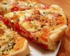 Tarte légère à la tomate (facile, rapide) - Une recette CuisineAZ