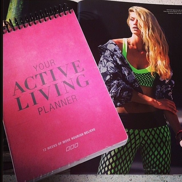 The Active Living Planner - a girl's new best friend!