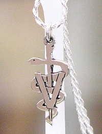 veterinary symbol pendant