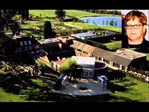 Homes Of The Rich And Famous Elton John Celebrity