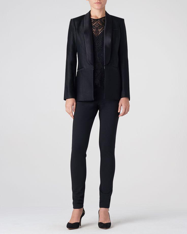 Glastonbury Tuxedo Jacket by Veronica Beard