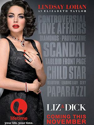 Lindsay Lohan's Liz & Dick poster