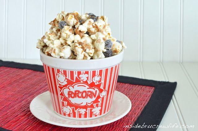 Coffee Toffee Popcorn Munch