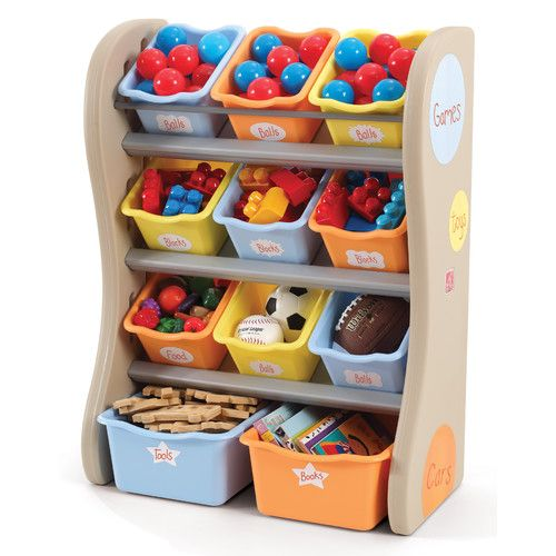 Step2 Fun Time Room Toy Organizer