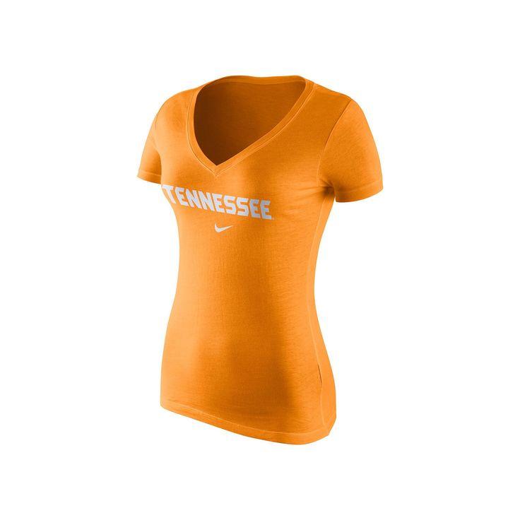 Women's Nike Tennessee Volunteers Wordmark Tee, Orange