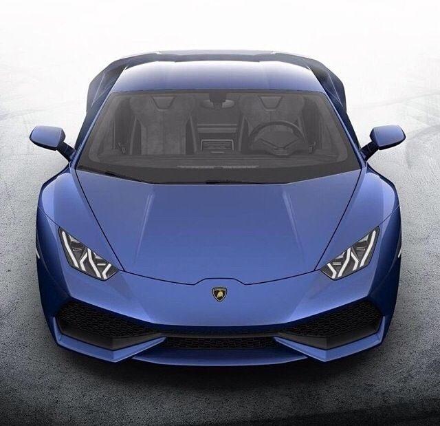The New Lamborghini Huracan In Blue