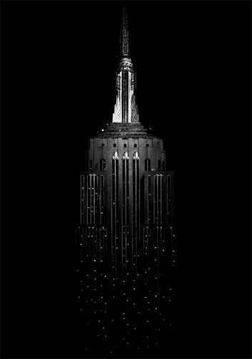 .empire state building   More party lusciousness here: http://mylusciouslife.com/photo-galleries/wining-dining-entertaining-and-celebrating/