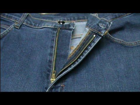 Hola! En este video enseñamos a cambiar una cremallera rota de un pantalón vaquero. Es un arreglo que tiene muchos pasos, por ello hemos dividido en 3 partes... Part 1 of Repair zipper on jeans (3 parts videos) Jeans alteration/repair zipper