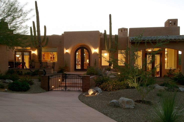 Wall courtyard____Territorial 133 - mediterranean - exterior - other metro - Soloway Designs Inc.