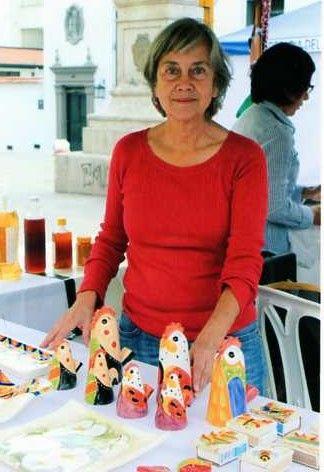 Actualmente esta artista exhibe sus creaciones en Manos de Oro de Popayán. Fotos suministradas por: Mercedes Domínguez.
