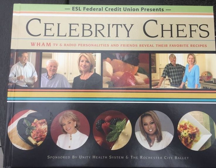 Celebrity Chefs WHAM TV Radio Personalities Friends Favorite Recipes