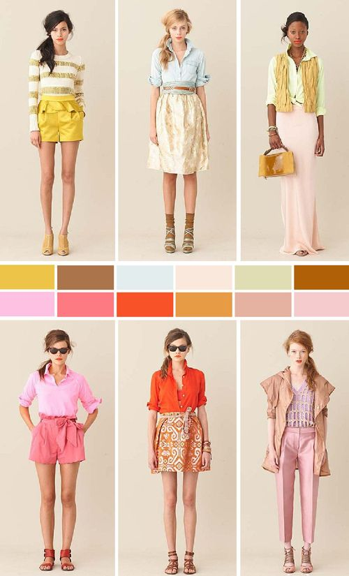 LOVE JCrew Spring 2011 - love these colors! must find a way to use them.