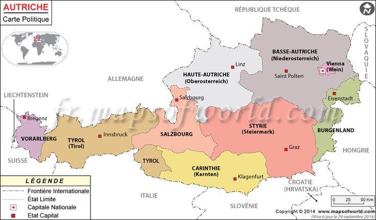 #Autriche Carte