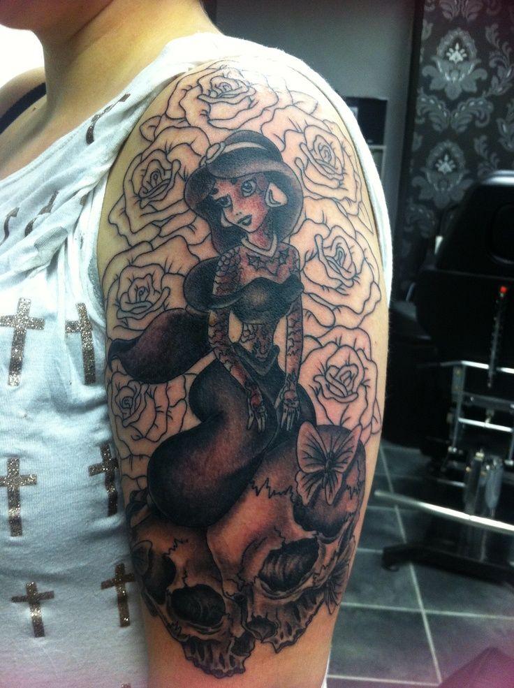 Disney ink half sleeve. Semi finished. | Tattoo ~ Sleeves ~ | Pintere ...