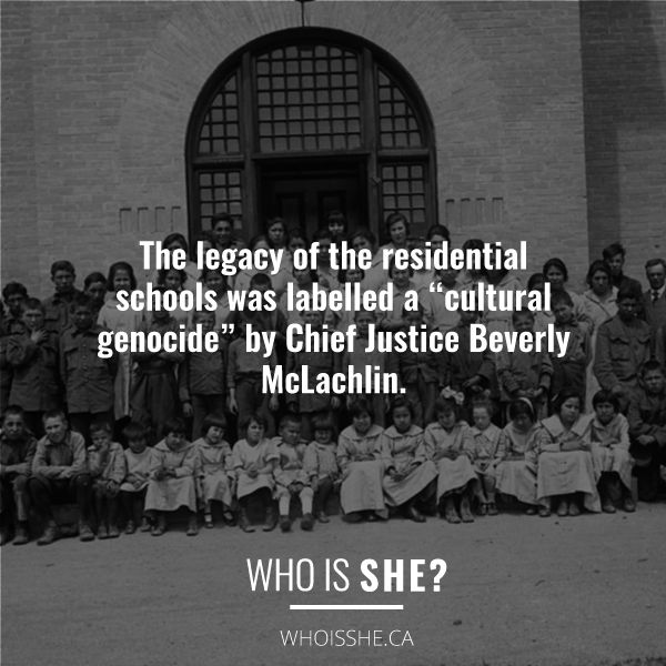 The TRC report connected the impact of residential schools with the reality of missing and murdered Indigenous women and girls.