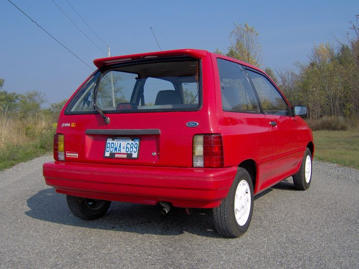 1993 Ford Festiva GL. About $4,000