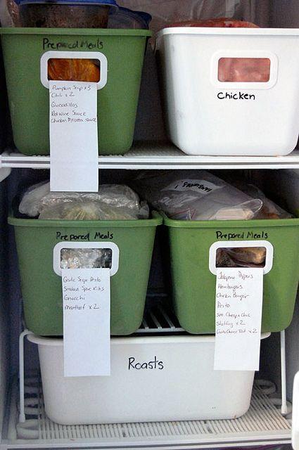 Organized Freezer 4
