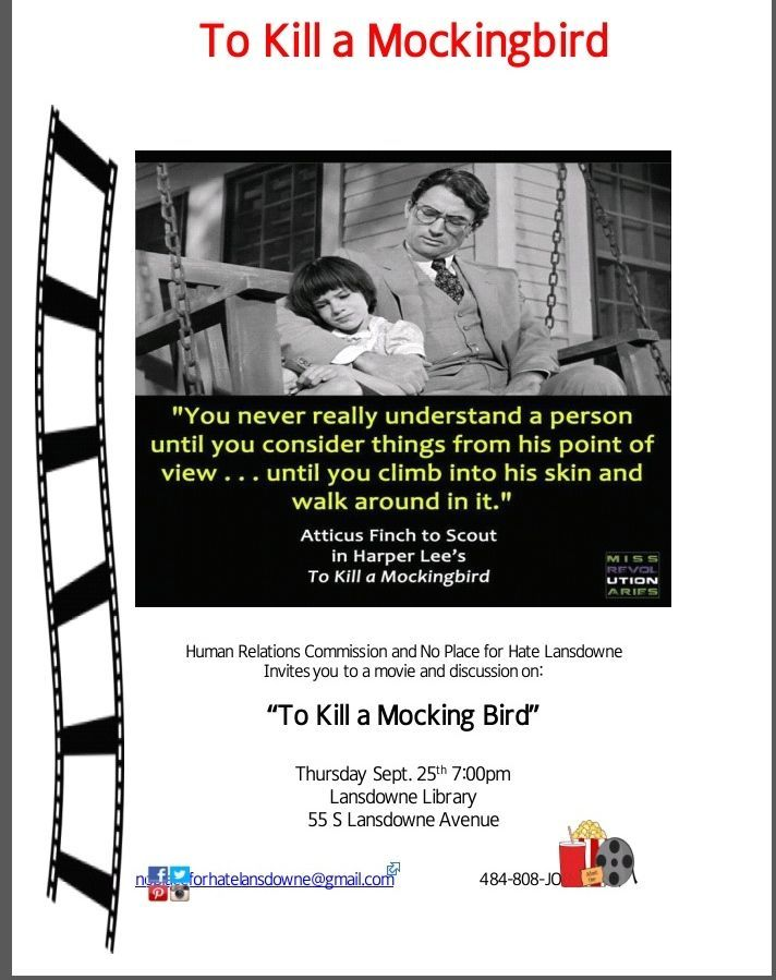 to kill a mockingbird portrayal of Earnest, kacy alaina ernest, the times are-a-changin': portrayal of  in harper  lee's 1960 novel, to kill a mockingbird, atticus finch is the.