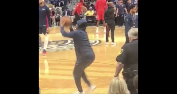 Man Sneaks on Court docket and Shoots Throughout Pelicans Warmups