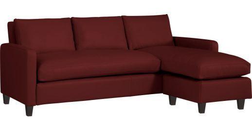 Découvrez CHESTER Canapés Canapé d angle Rouge Cuir chez Habitat, fabricant  de meubles et 00834dd63bd