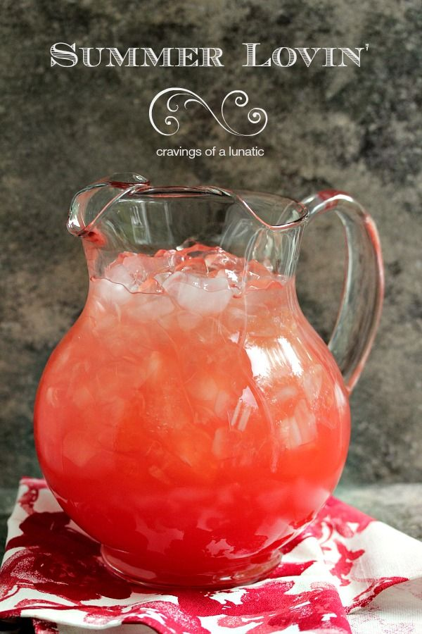 Watermelon Agua Fresca   Refreshing and easy to make. This Watermelon Agua Fresca is sure to be a hit this summer!