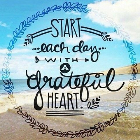 What are you grateful for today? #feelgoodtuesday #love