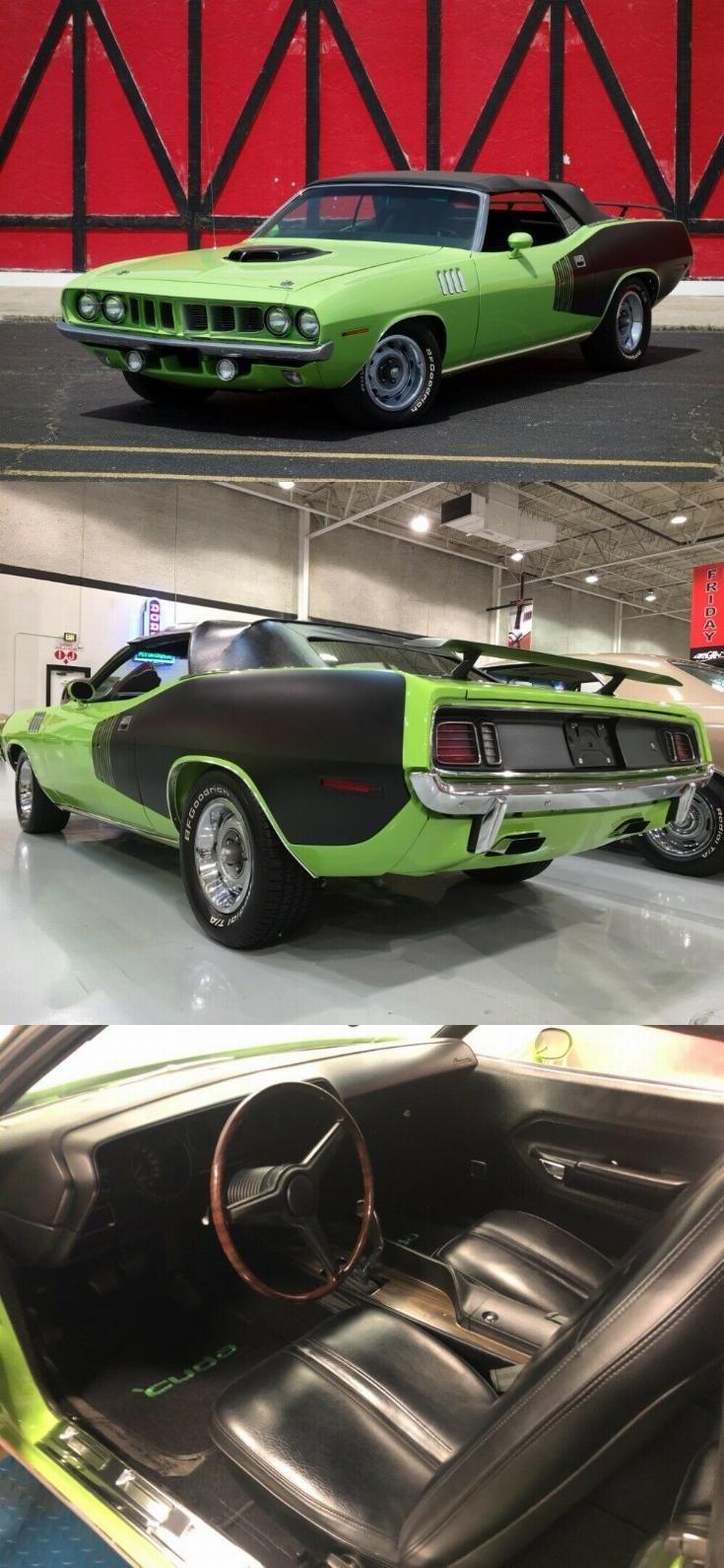 Hemi Cuda Tribute 1971 Plymouth Barracuda Convertible In 2020 Hemi Cuda Plymouth Barracuda Cuda