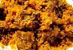 Surinaams eten!: Dendeng Ragi: Javaans gestoofd rundvlees met geroosterde kokos